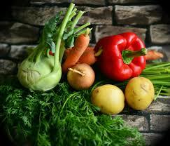 Kohlrabi, Paprika, Karotten, Petersilie, Erdäpfel