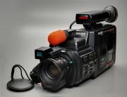 eine Filmcamera gross im Bild
