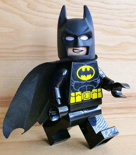 Batman als Legofigur