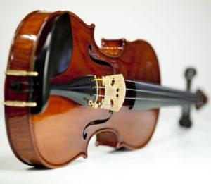 eine Geige ohne Hintergrund und ohne Bogen